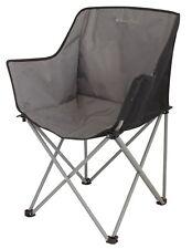 Silla camping Kampala de pescar Plegable playa , gris oscuro / Negro