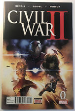 Marvel Comics Civil War II 0 Bendis First Print NM Beautiful!!!