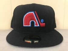 Brand New New Era 7 3/8 Quebec Nordiques Fitted Hat