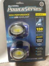 LED Headlamp - Bell & Howell Power Series - 130 Lumens - Set of 2- Work Light