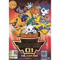 DIGIMON ADVENTURE 01 Vol.1-54End Anime DVD