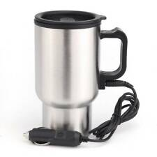 450ml 12v Car Van & Caravan Electric Thermos Thermal Heated Travel Mug & Cup