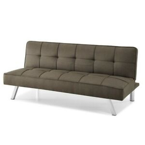 Futon Sofa Bed Convertible Couch Sleeper Loveseat Modern 3 Seater Upholstered