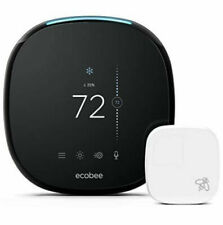 ecobee ecobee4 Alexa Enabled Smart Thermostat with Sensor (EBSTATE401) NEW