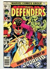 Defenders #48    What is the Secret of Scorpio