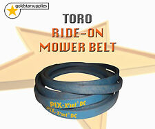 "TORO RIDE ON MOWER CUTTER BELT To suit late 42"" cut rear discharge models"