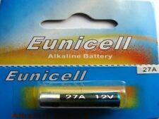 EUNICELL 1 Pile Alcaline 12V A27 27A Alkaline Mn27 Gp27a L828 El812