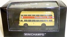 Büssing D2U Double Pont BUS BERLIN 1957 Salah MINICHAMPS 1:160