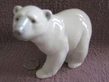 "Original Lladro Figurine ""Attentive Polar Bear"" #1207"