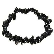 Onyx Natural Chip Gemstone Bracelet Healing Chakra Reiki New Age Handmade