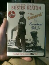 Buster Keaton: The General/Steamboat Bill Jr., New Dvd, New Sealed