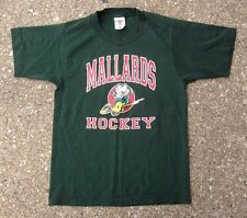 Quad City Mallards Vintage Hockey Shirt ~ Youth Boys Small ~ ECHL Vegas Knights