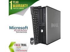 DELL Desktop Computer 780 Core 2 Quad Q8200 (2.33 GHz) 8 GB DDR3 1 TB HDD Intel