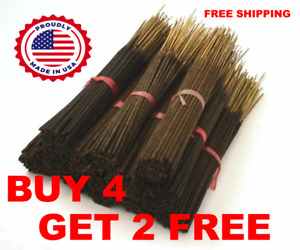 HEAVILY SCENTED INCENSE STICKS HAND DIPPED  ~ Bulk Wholesale ~ 50 Bundle ~ B4G2