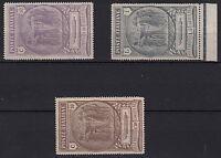 1923 Regno Italia Serie Nuova Camicie Nere 3 Valori Integri Sassone 147/9 MNH