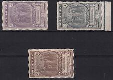 Regno Italia 1923 Serie Nuova Camicie Nere 3 Valori Integri Sassone 147/9 MNH