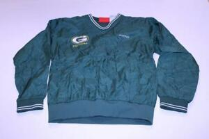 Youth Green Bay Packers M Vintage Windbreaker Jacket (Green) SporTrax