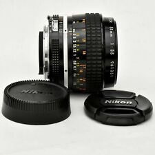 Micro Nikkor 55mm f/3.5 AI Super Shp Macro Lens. Exc+++. Tested. See tst Images