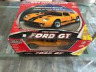 Vintage NIKKO Ford GT R/C CAR 1/10 Scale Yellow And Black Remote Control Car