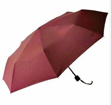 Light Weight Anti-UV Rain Sun Windproof Manual Umbrella - RED