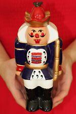 TIMMY WOODS SWAROVSKI CRYSTAL NUTCRACKER CHRISTMAS MINAUDIERE CLUTCH HOLIDAY BAG