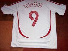 2006 2008 Denmark BNWT New Tomasson Adults XL Football Shirt Top