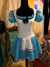 Leg Avenue Sexy Alice in Wonderland Costume Dress M-L Halloween Cosplay