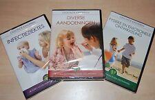 Kind en gezondheid 3- dvd's voor 10,00 euro  in seal.