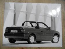 Foto Fotografie photo photograph FORD Escort Cabrio 08/90 SR1017