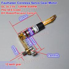 Faulhaber Mini DC 3V Precision Encoder Servo Motor Corless Motor For DIY Robot