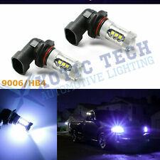 9006 HB4 9012 Ice Blue 8000K LED Driving Fog Light Bulbs Projector Lens DRL Lamp