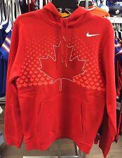 2017 World Juniors Championship Team Canada Red Player Hoodie Sweatshirt Large