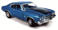 Chevy Chevelle SS 1970  blue, 1/43 Model Car. Resin Autoworld