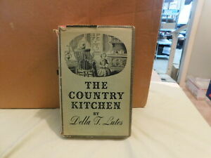 The Country Kitchen By Della Lutes, 1935/1936  HC DJ