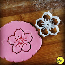 Cherry Blossom Sakura flower cookie cutter | 桜 櫻 さくら 花 garden floral flora meiji
