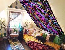 Sun Moon And Stars Tie Dye Mandala Blanket Hippie Boho Wall Tapestry Bohemian