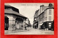 cpa 91 DOURDAN - Rue de Chartres - La Halle