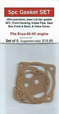 Enya 60-4C Four Stroke 5pc Gasket SET-NIP