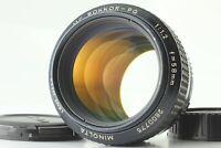 【EXCELLENT+5】Minolta MC Rokkor-PG 58mm f/1.2 MF Lens MD Mount from Japan #185