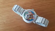 RARE VINTAGE WHITE BUBBLE WATCH US HONGKONG CHILD  WATCH V-121