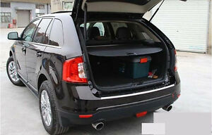 Rear Trunk Shade Cargo Cover for 2009-2014 Ford Edge BLACK