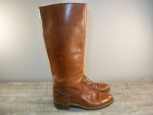 Vintage Rare FRYE Riding Campus Calvary Boots Leather Style # 6750 USA Size 8
