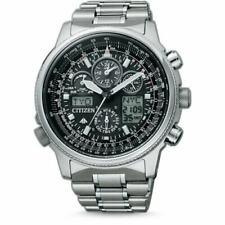 Citizen Herren-Armbanduhr Promaster Skyhawk Flieger Chronograph Quarz JY8020-52