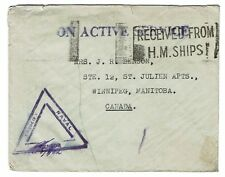 Great Britain Wwii Hm Ships Censor Cover - Z481
