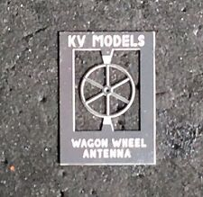 ETCHED WAGON WHEEL ANTENNA ERIE/ ERIE LACKAWANNA RS3/RS2 HO SCALE KV MODELS