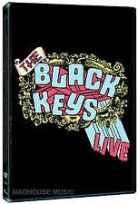 The BLACK KEYS DVD - Live 2005 Concert w/ Interviews Videos + Promo Sheet SEALED