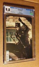 Catwoman #1 1st print 2018 Series Stanley ArtGerm Variant CGC 9.8 NM+M