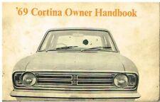 FORD CORTINA MK2 1300 1600 1600GT ORIGINAL 1969 OWNERS INSTRUCTION HANDBOOK