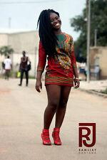 Dashiki Girls on Fire African Clothing Women's Clothing Women's outfit Women