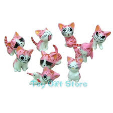 9 pcs Lovely Chi's Sweet Home Cat FIGURES Pink